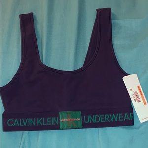 Calvin Klein Monogram Bralette
